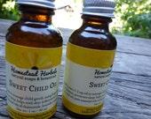 Sweet Child Oil - natural massage oil for infants and children (1 oz)