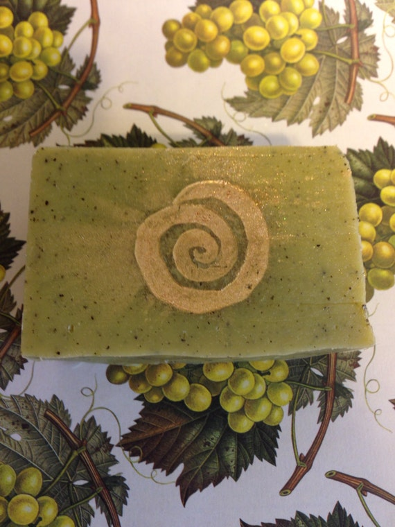 Frankincense Bergamot and Organic Green Tea Soap