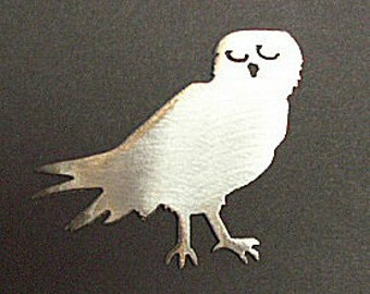 OWL BIRD Magnet- holds 5lbs  Fridge Locker Steel door Decorative useful small gift item