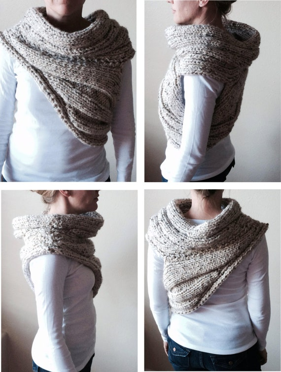 Katniss Inspired Cowl Knitting Pattern : Katniss Everdeen Cowl, PATTERN PDF - Knitting Pattern for DIY Hunger Games Pa...