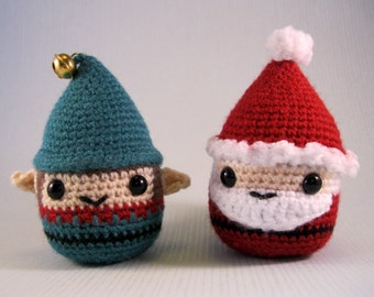 Chubby Gnome Amigurumi Pattern PDF - Gnomes and Christmas characters - Crochet Pattern