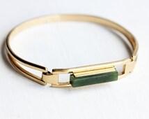 Jade Bar Bracelet