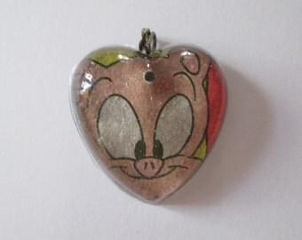 Tiny Toons Hampton Heart Necklace