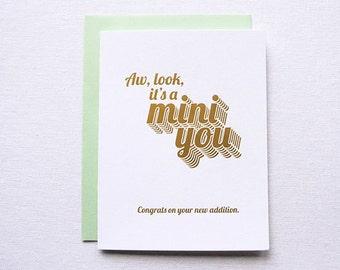 Mini You Baby Card