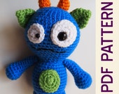 Amigurumi Crochet Silly Monster Buddy Toy PDF Pattern
