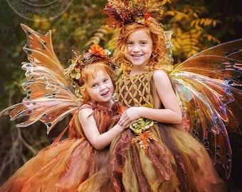 Fall fairy, woodland fairy, Fairy ware, princess, wedding, photography, costume,party ware