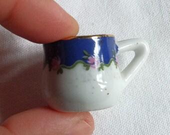 VINTAGE MINIATURE //// Porcelain Tea Cup
