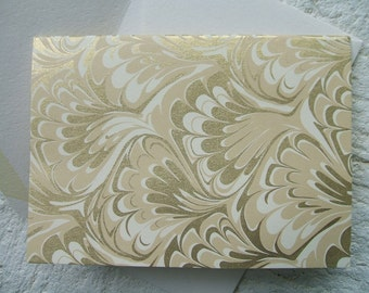Greeting Cards - Marble - (Set of 10) 4 Bar