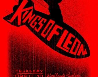 Kings of Leon 2014 at Woodlands Pavilion