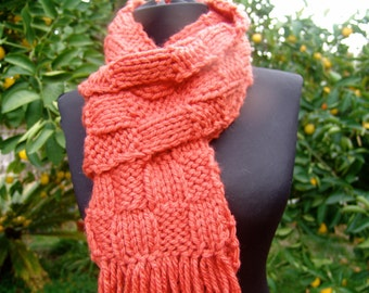 Pumpkin Pie Scarf