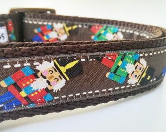 The Nutcracker - Dog Collar / Handmade / Pet Accessories / Adjustable / Gift Idea / Pet Lover