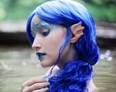 Handmade Sea Elf Ears-- latex ear tips, great for cosplay, costumes, mermaids, merfolk, dragon ears