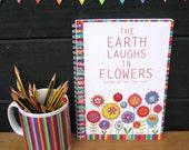 FLOWERS -  A5 spiral bound notebook