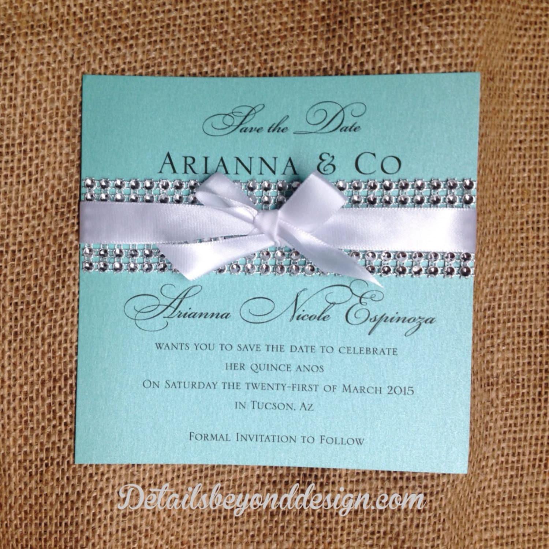 Custom listing for aylin tiffany box bridal shower invitation on custom listing for aylin tiffany box bridal shower invitation on tiffany blue pearlescent card stock set of 60 stopboris Images
