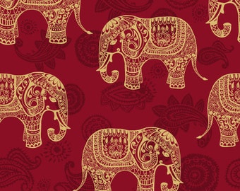 Elephant Wallpaper Etsy
