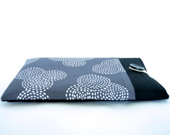 "Geometric iPad Air Sleeve, Samsung Galaxy Note Case, Galaxy Tab 10.1"" Case Cover, iPad Air Case, Padded Custom Tablet Case - Circles"