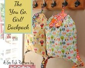 The You Go Girl! Backpack (Instant Download) The Go Fish Series