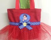 Snow White Princess Mini Tutu Tote Bag