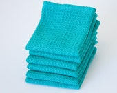 Handwoven Waffle Weave Dish Cloth / Set of 2