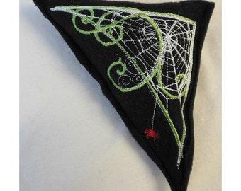 Art Nouveau Spider Web Cat A Tonic Organic Catnip Toy