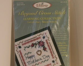 Sheaf Stitch Happy Mother's Day Counted Cross Stitch Kit