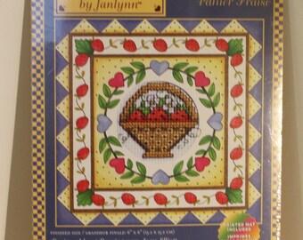 Strawberry Basket Counted Cross Stitch Kit