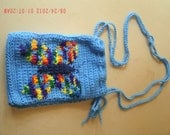 Rainbow Butterfly Pullstring Pouch