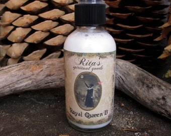 Rita's Royal Queen B Spiritual Mist Spray - Pagan, Magic, Witchcraft, Hoodoo, Juju
