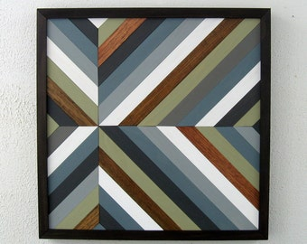 Chevron Wall Art, Wood Sculpture, Wood Art, Home Decor
