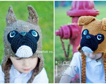 Handmade Crochet Boxer Hat MADE to ORDER Handmade Crochet Hat