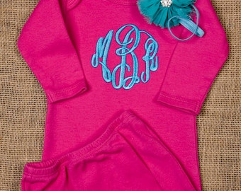 Personalized perfect SET, COMING HOME outfit or gift