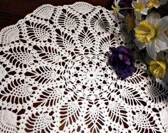 Crochet pineapple  Doily