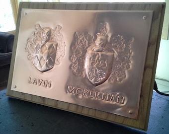 Copper Family Crest