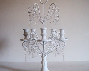 True Cottage Style 5 Arm Taper Style Candelabra MADE TO ORDER