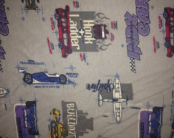 Indy Car Hook and Ladder Pillowcase Standard Size
