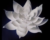 Weddings Large Paper flower 18 inches in the color of your choice
