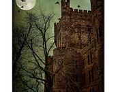 Darkness revisited, fine art architectural photography, Castle , dreams and fairy tales , you pick the size