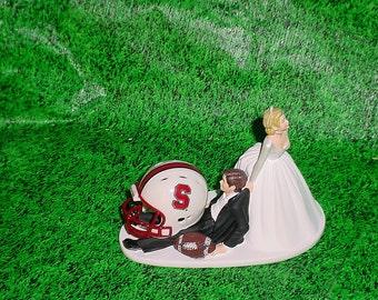 Buffalo Bills Football Lover Groom Wedding Cake By