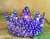 Custom Made Purple Princess  Tiara