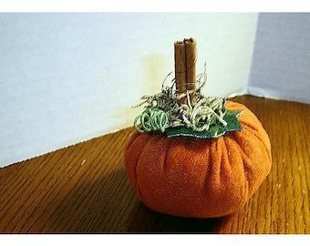 Suede Pumpkin/Small Size/Handmade*