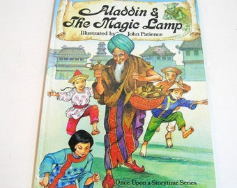 Aladdin And The Magic Lamp Illustrated By John Patience