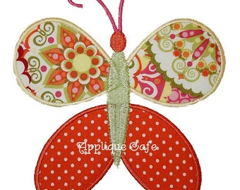070 Butterfly 1 Machine Embroidery Applique Design