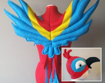 Coolest Homemade Parrot Costume Ideas