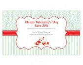 Printable Sales Promo Card - Valentines Day PS 1