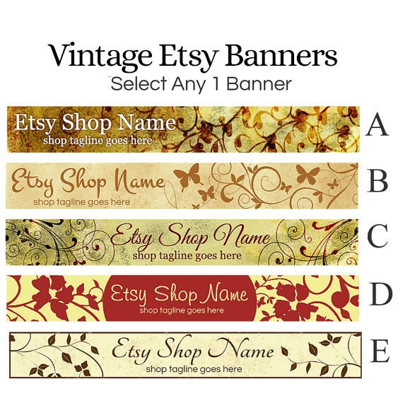 Etsy Shop Banners Etsy Banners Vintage Etsy By Rhondajai. One Page Executive Summary Template. Curriculum Pacing Guide Template. Business Email Signature Template. Business Case Template Word. High School Graduation Gifts For Her. Wedding Seat Chart Template. Booklet Template For Word. Graduate Certificate In Public Health