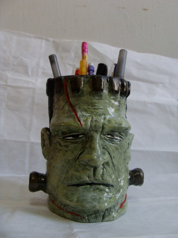 Monster Pen &  Pencil Holder/Sculpture