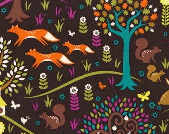 Michael Miller Norwegian Woods Too Collection - Foxtrot in Jewel