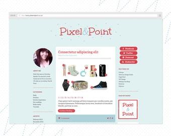 SCALLOP & STITCH Blog Design Kit