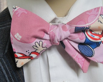 Bubble Gum Bow Tie