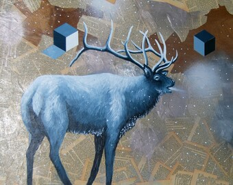 Grey Elk